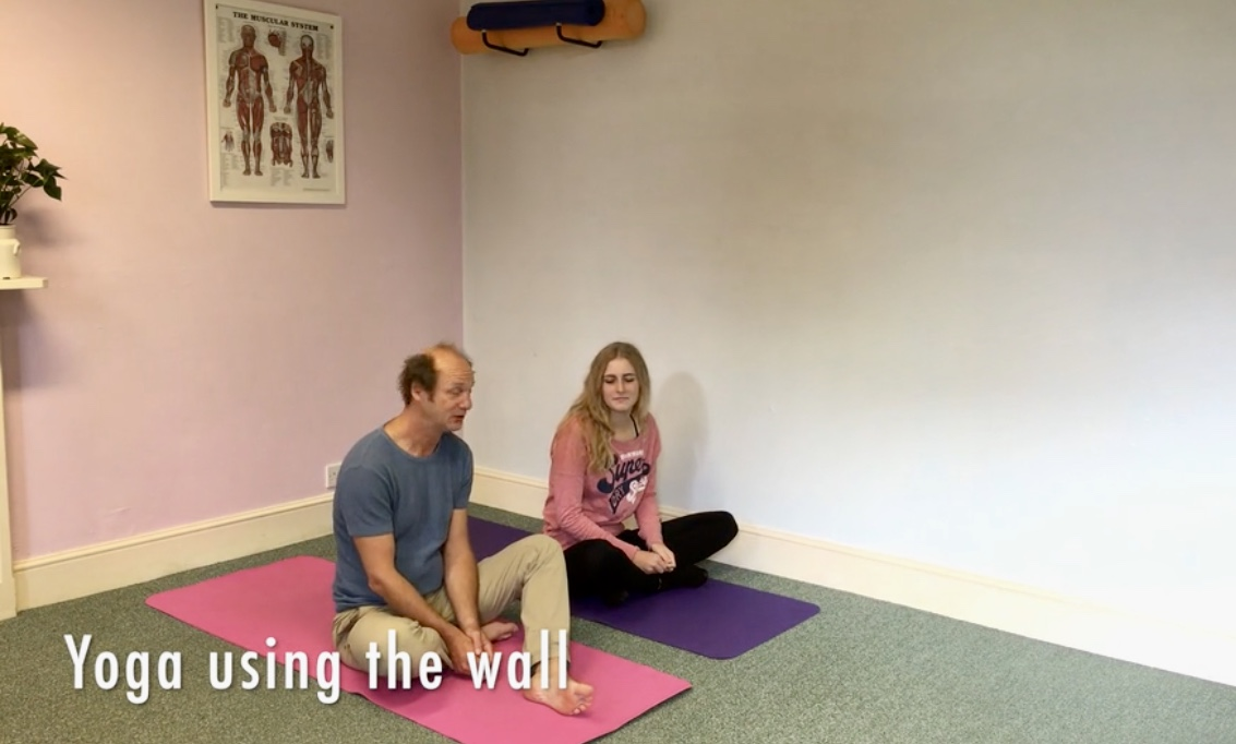 Yoga with the Wall – 60 mins – Yoga