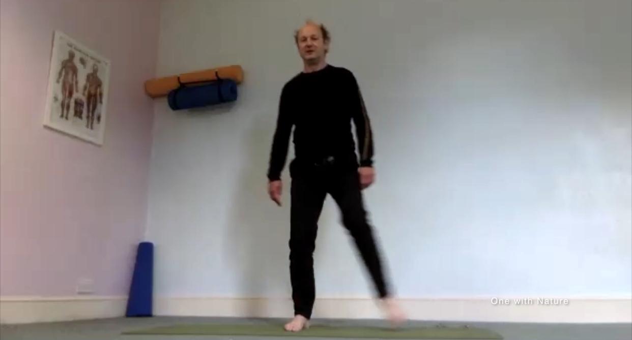 Heel Reflex – 10 mins – Feet