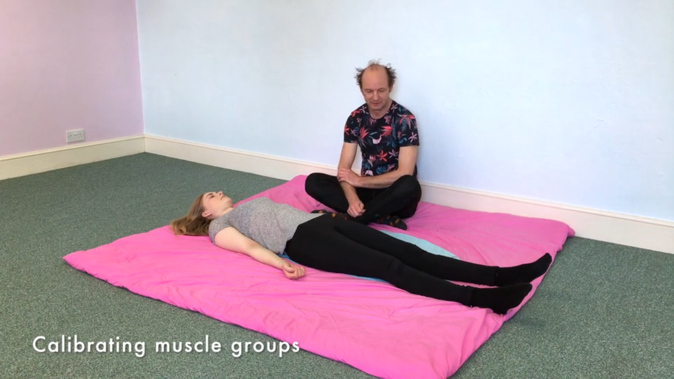 Calibrating Muscle Groups – 30 mins – ATM