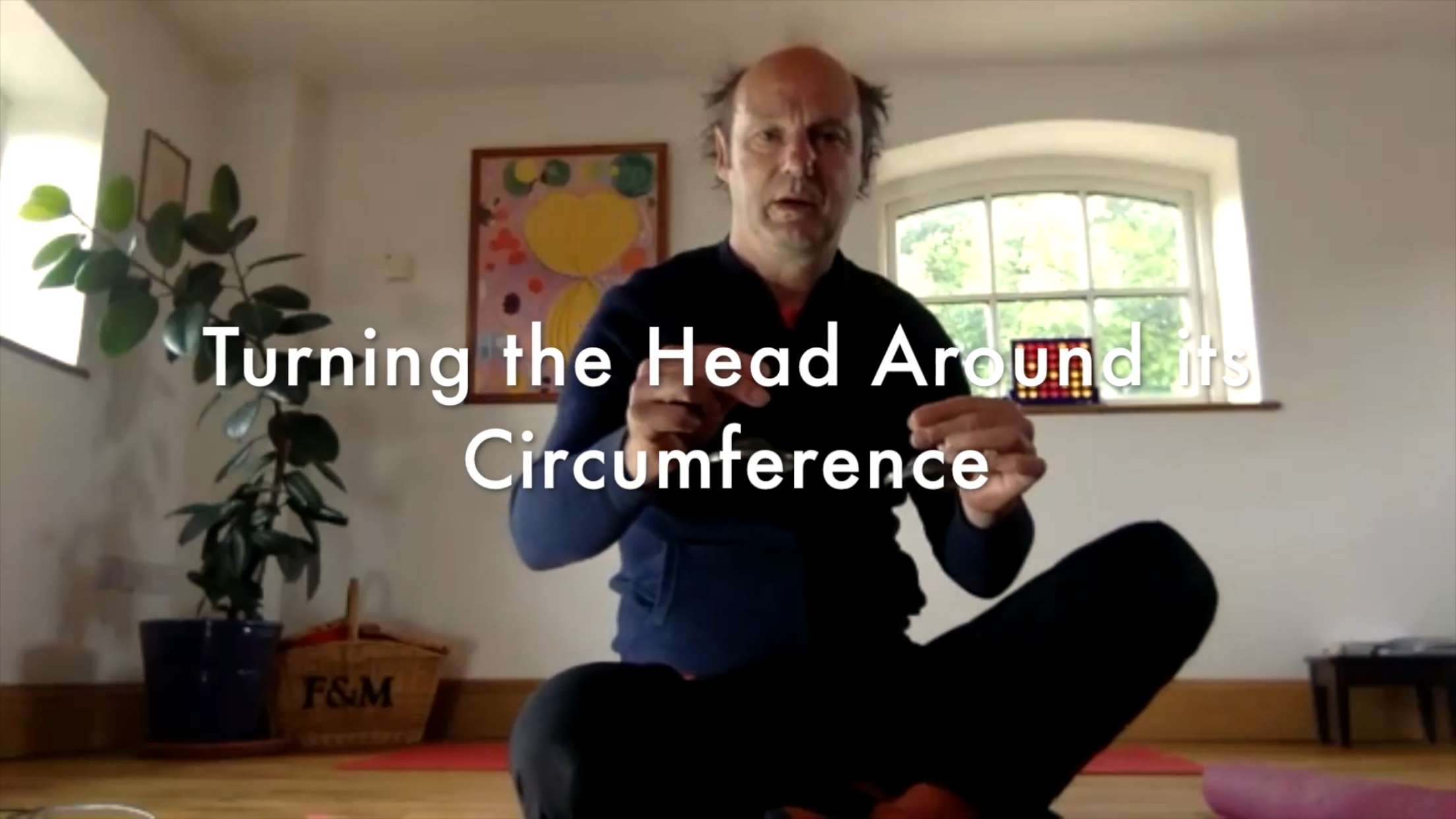 Turning the head around a circumference set – 60 mins – ATM