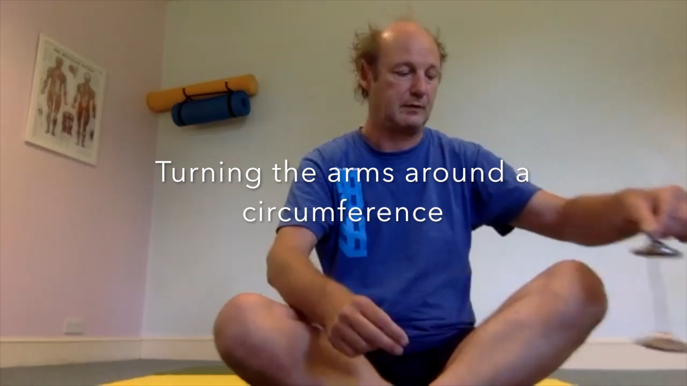 Turning the Arm Around a Circumference