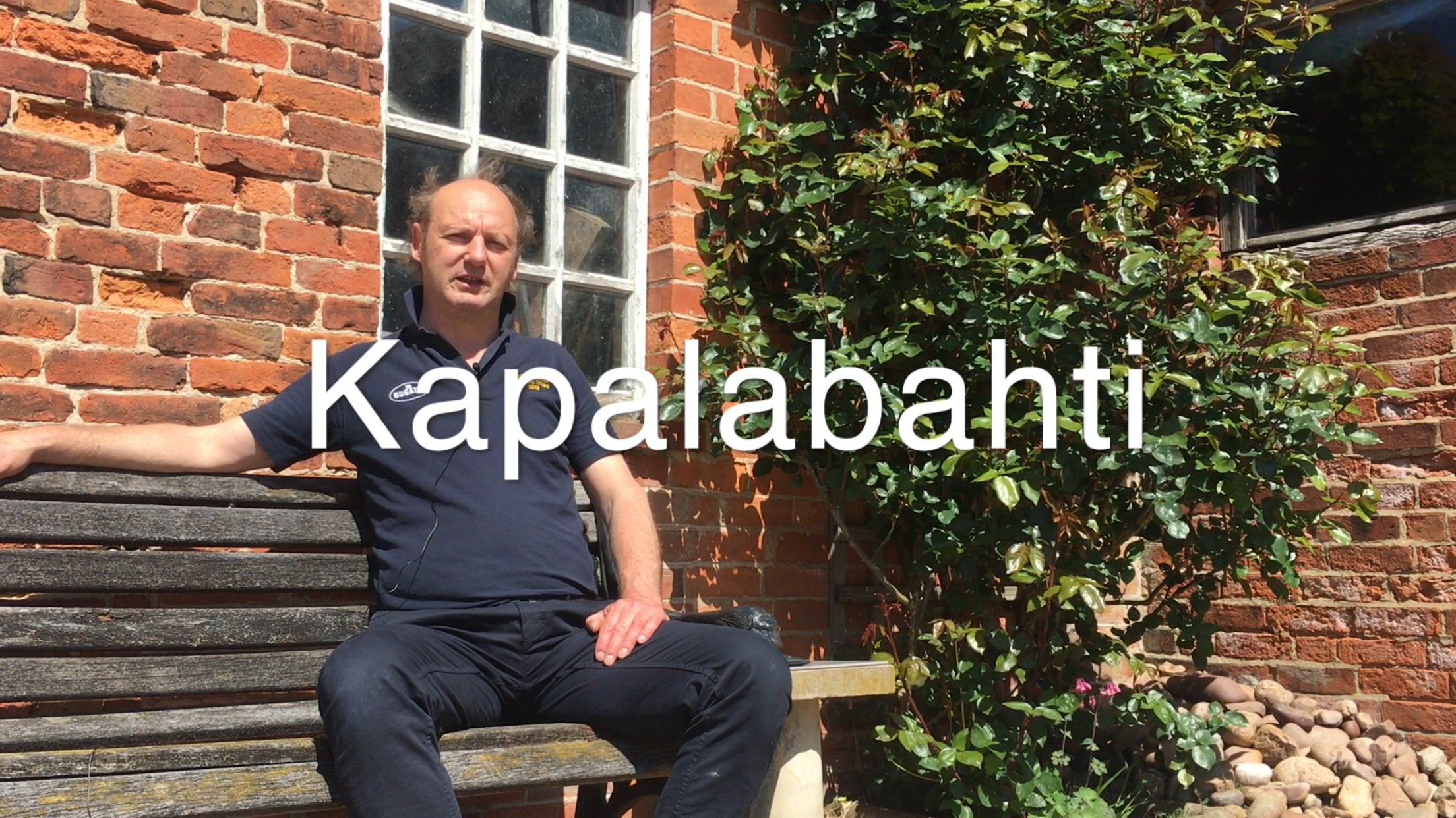 The Kapalabahti – 10 mins –  Breathing Technique