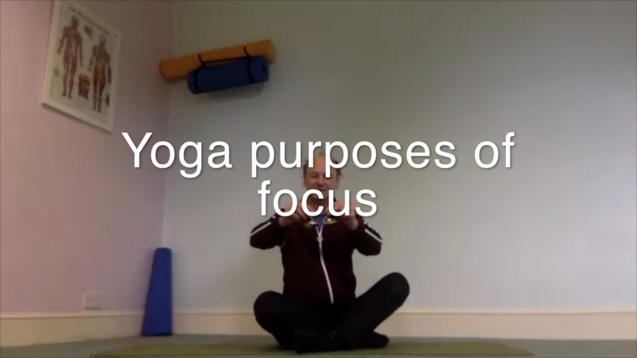 Purpose of Focus - 1hr 6mins