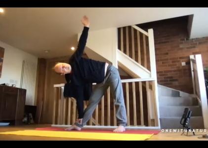 Half Hour B – 30 mins – Yoga