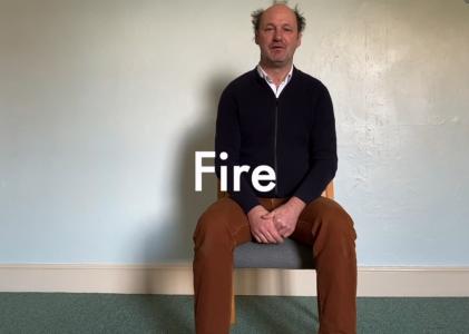 Fire – 8 mins – Meditation