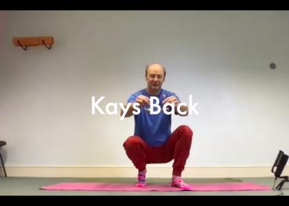 Kays Back – 60 mins – Catfit